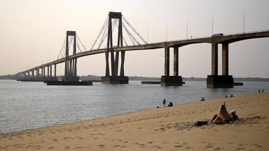 río Paraná en Corrientes 20210831