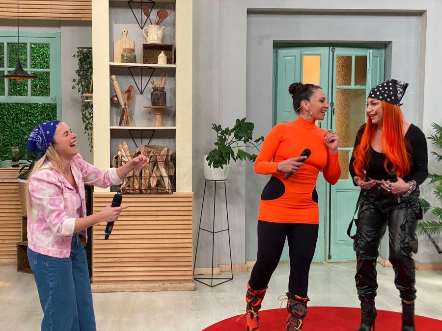 Sofía Pachano fue sorprendida por Lowrdez y Lissa de Bandana