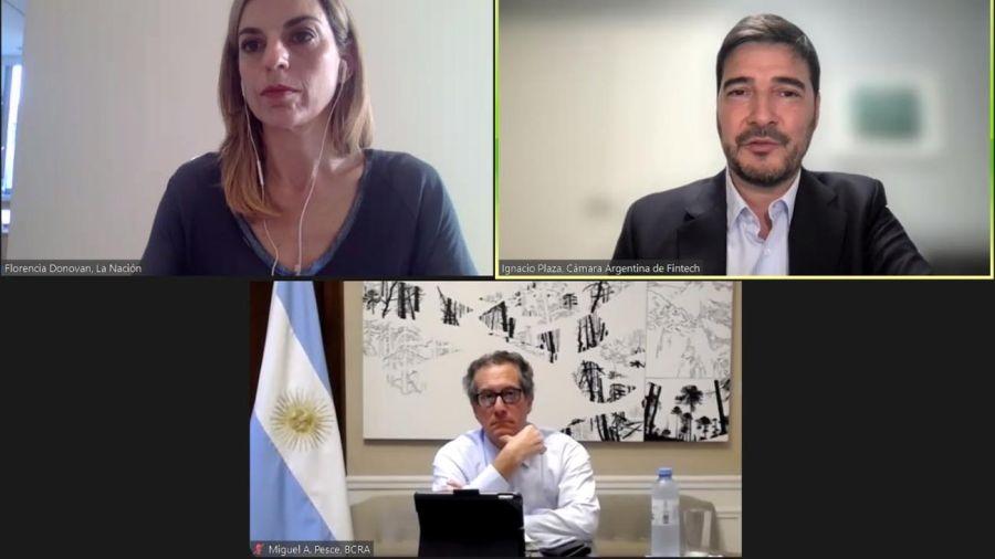 FintechWebinar con la presencia de Miguel Pesce 20210901