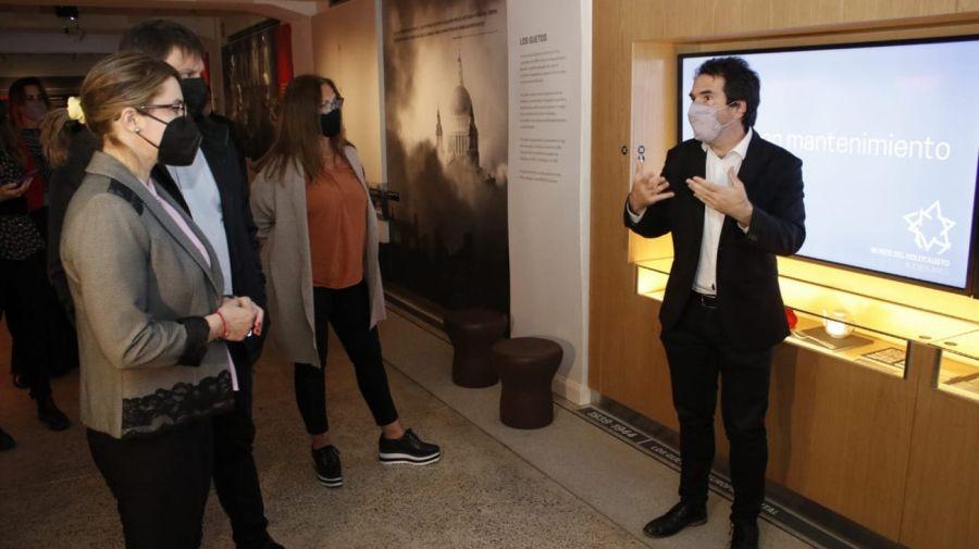 Leandro Santoro y Gisela Marziotta