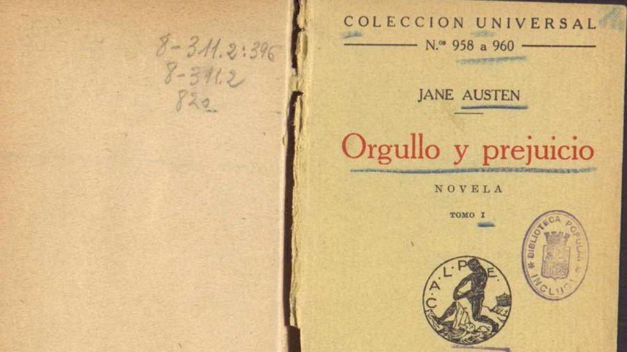 """orgullo y prejuicio"""" de Jane Austen 20210901"""