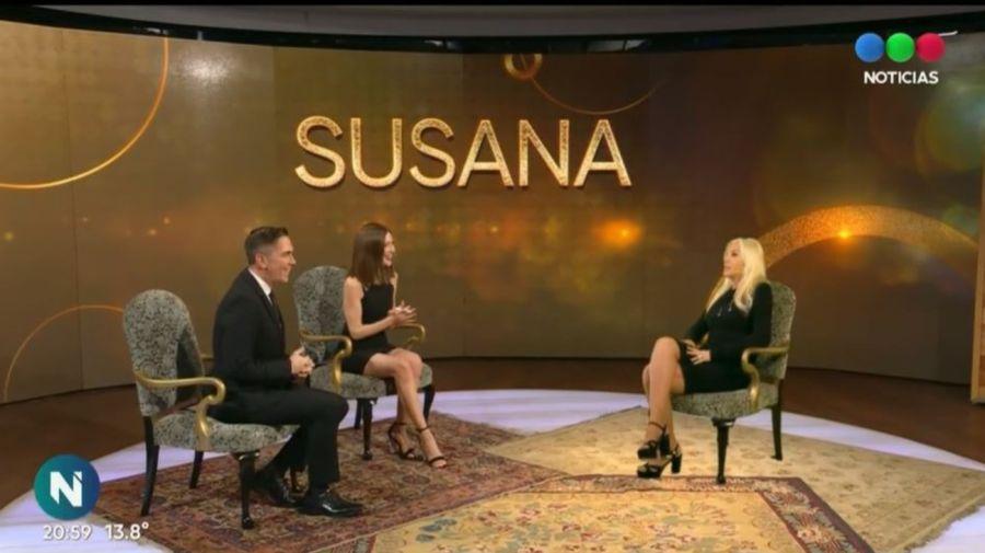 Susana Gimenez realidad aumentada Telefe