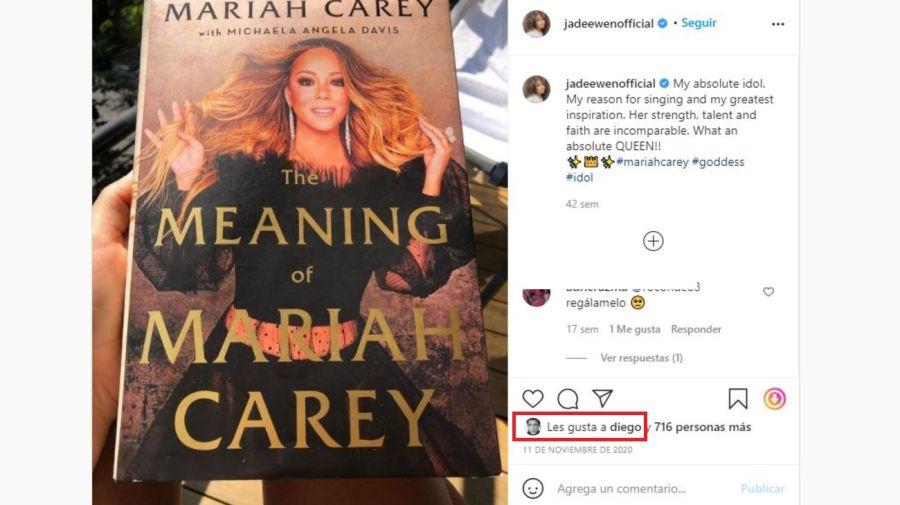 Jade Ewen y Mariah Carey