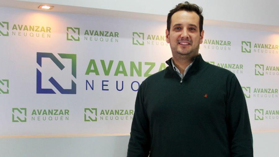Lucas Castelli, diputado neuquino por Avanzar