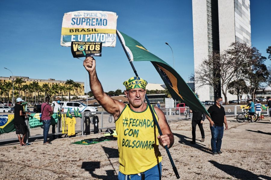 Military Parade Rolls Into Brazil Capital Before Tense Vote
