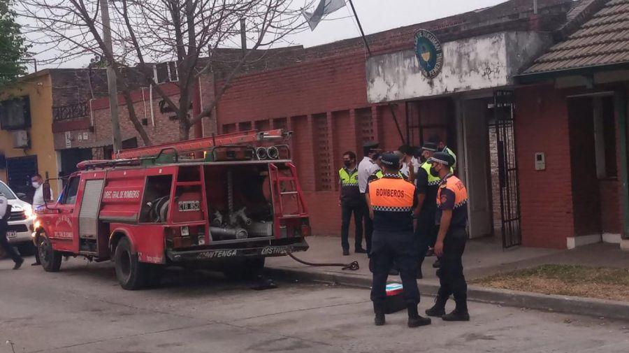 incendio que sucedio en Tucuman en una Brigada Femenina 20210906