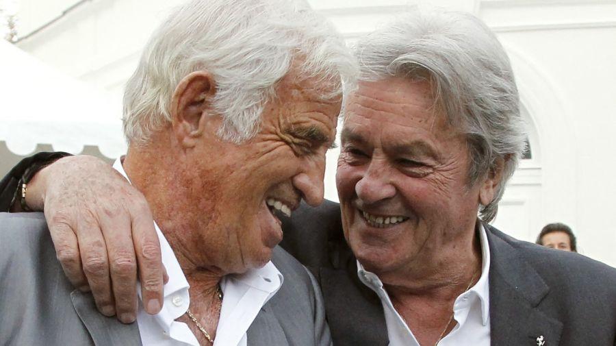 Jean-Paul Belmondo y Alain Delon