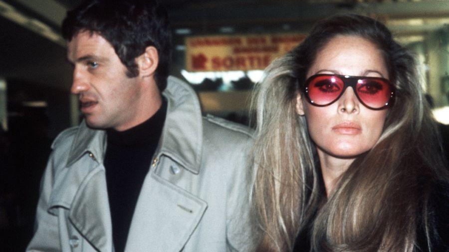 Jean-Paul Belmondo y Ursula Andress en 1968