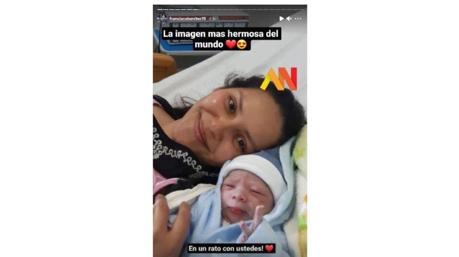 la hija de Francisco Benitez ganador de La Voz Argentina
