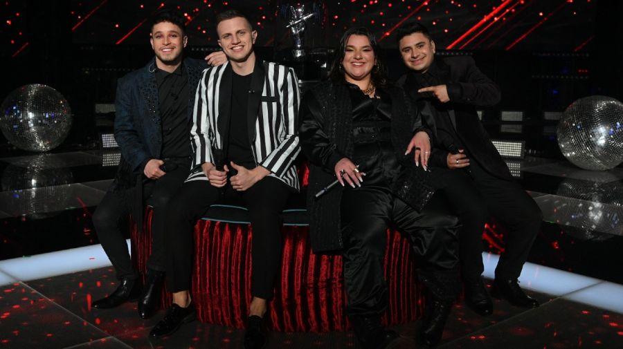 Los cuatro finalistas de La Voz Argentina