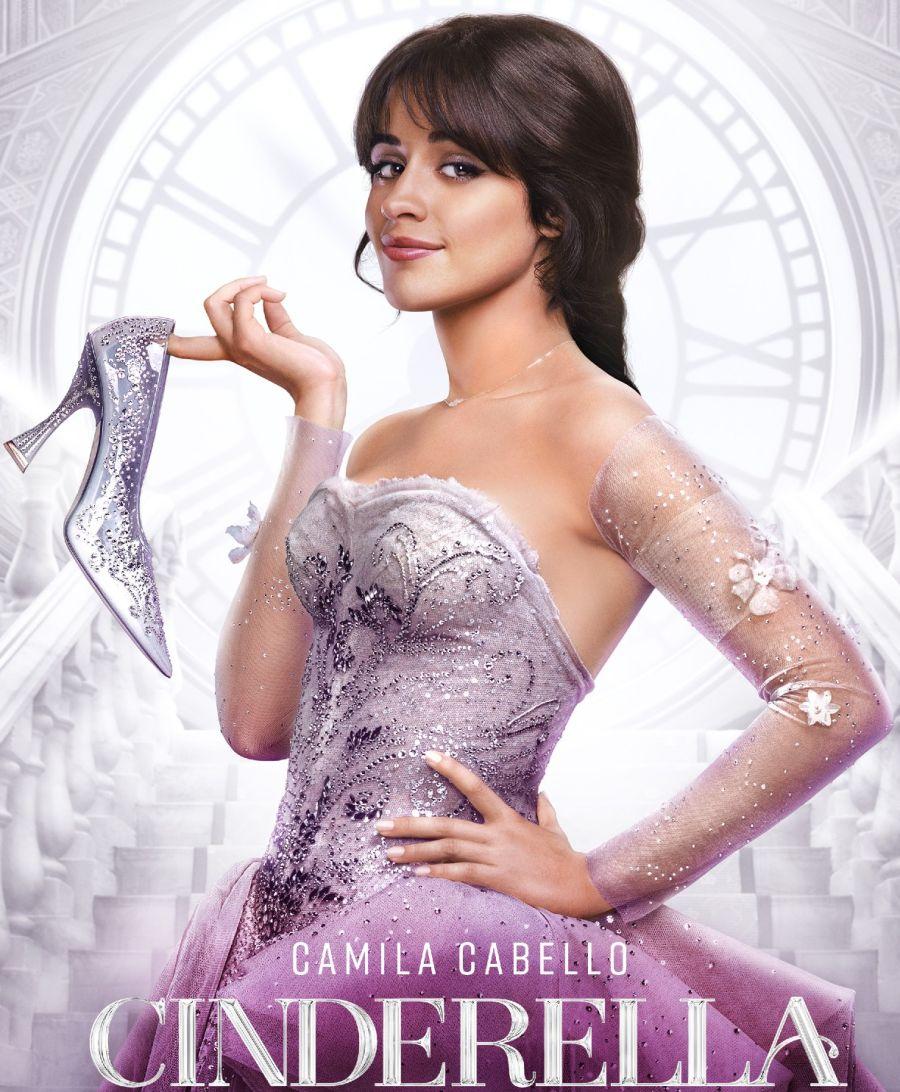 Camila Cabello espléndida en el lanzamiento del film