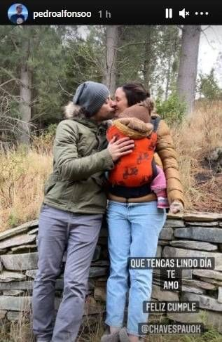 El original saludo de Pedro Alfonso a Paula Chaves por su cumpleaños 37