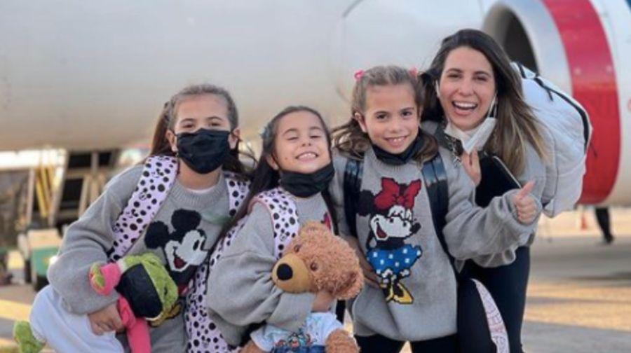 Cinthia Fernández compartió el cambio de look de su hija Francesca y las redes estallaron