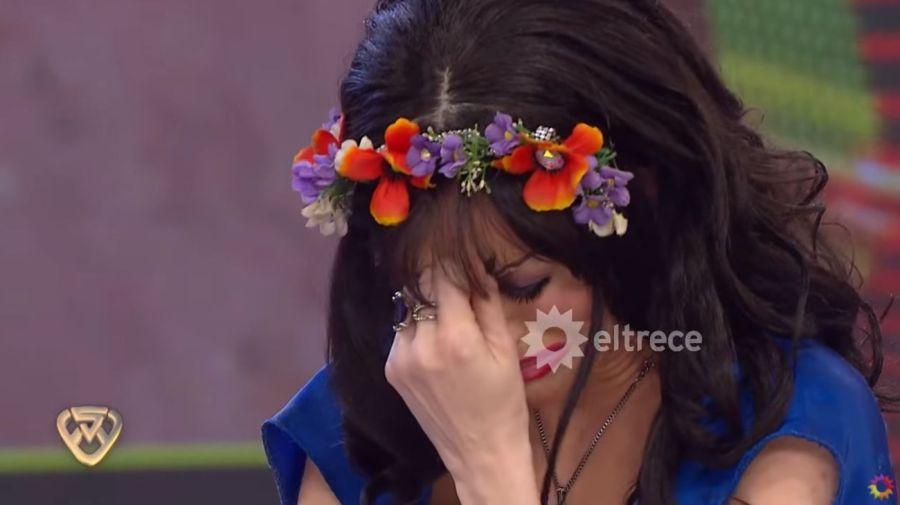 Fatima Florez llorando