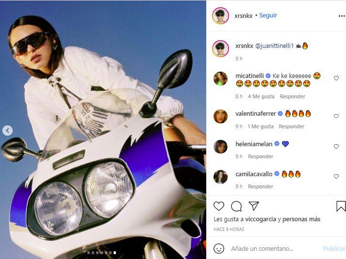 Juana Tinelli brilla como modelo y es la elegida de las grandes marcas