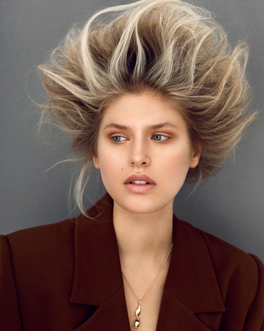 Peinados con volumen