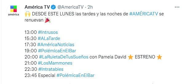 Twitter América