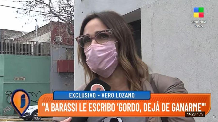 Veronica Lozano y Dario Barassi