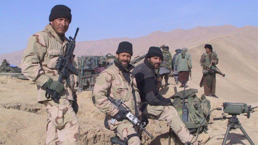 Fuerzas de EE.UU. Afganistán 2001