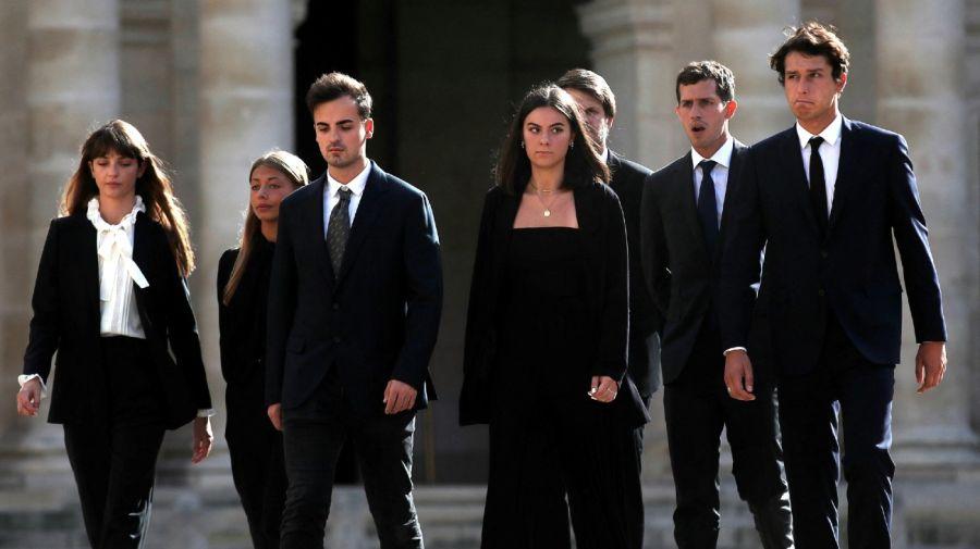 Stella Belmondo, Victor Belmondo, Giaccomo Belmondo y Annabelle Belmondo
