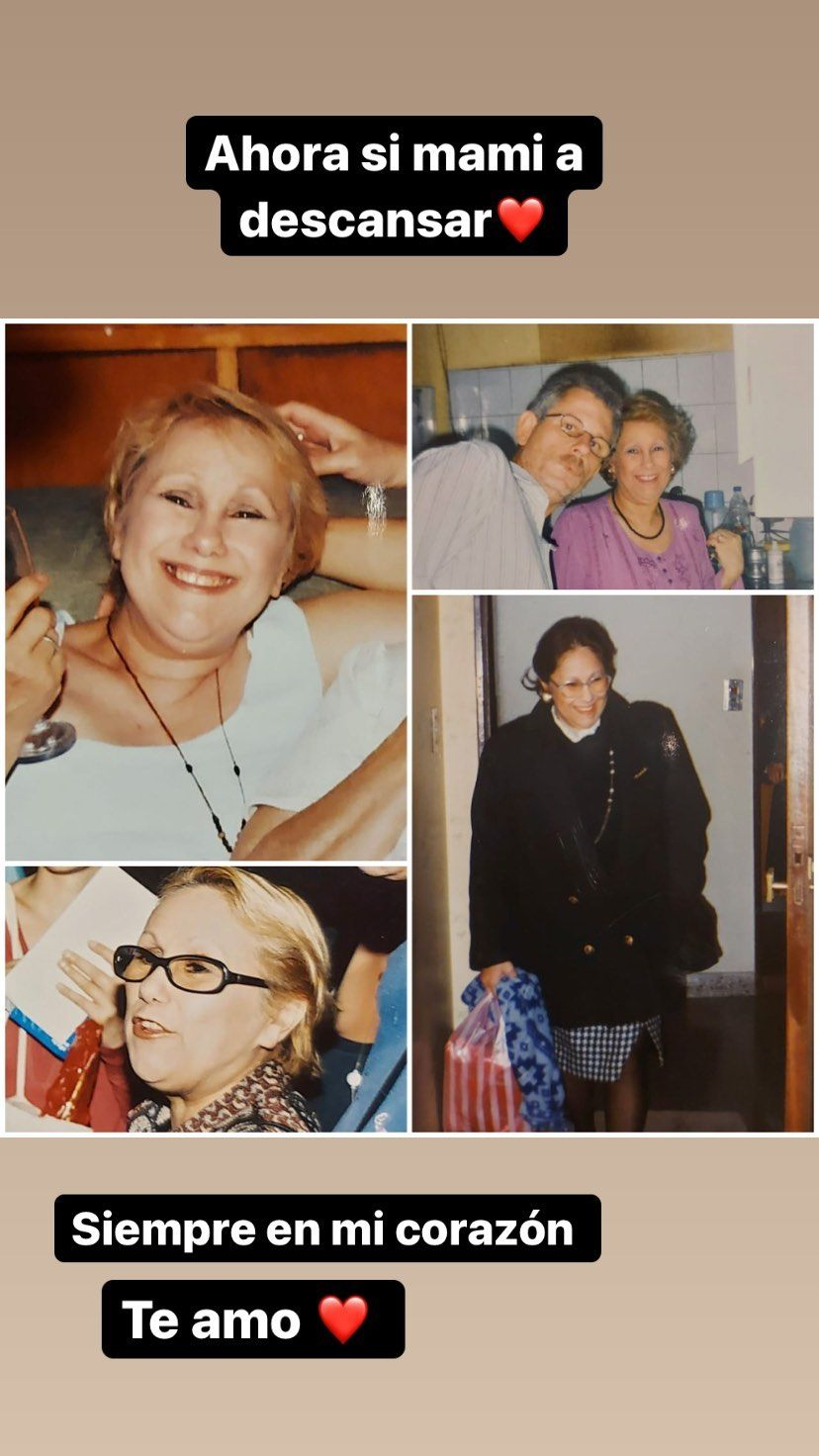 Murió la mamá de Barby Silenzi: