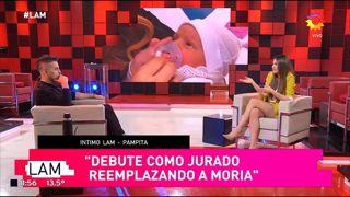 Pampita habló de su relación con Benjamín Vicuña y si trabajaría con él