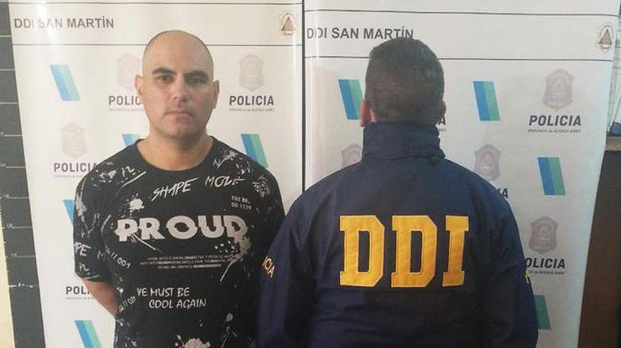 DDI detuvo al prófugo Carlos Damián Cassalz 20210912
