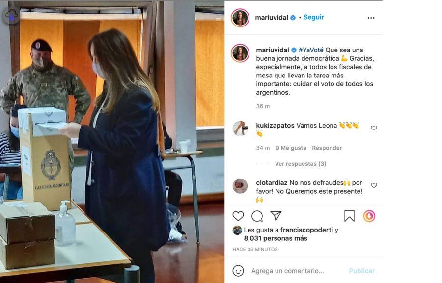 El mensaje de Quique Sacco a María Eugenia Vidal que en las PASO 2021 cobra especial significado