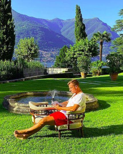 La espectacular mansión de Maxi López y Daniela Christiansson en Italia