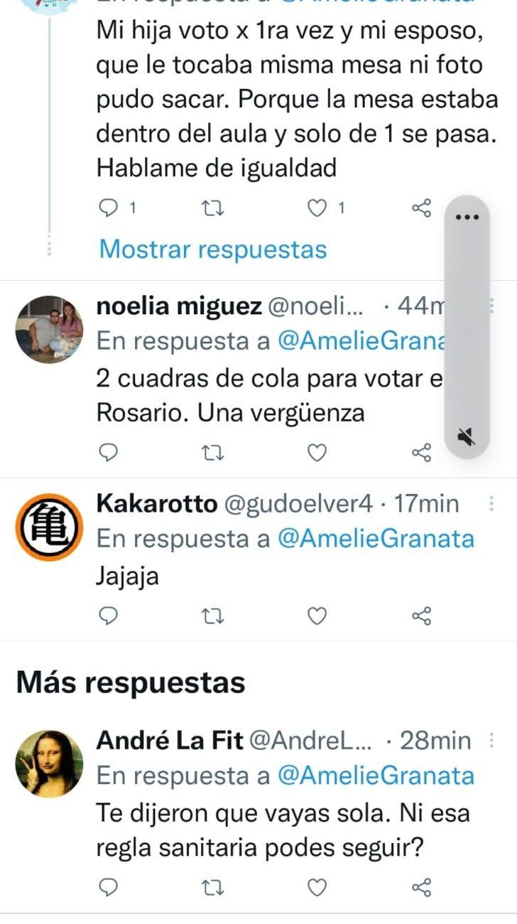 PASO 2021: Amalia Granata fue a votar y la criticaron en redes sociales
