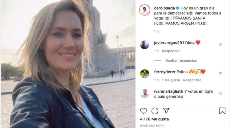 PASO 2021: Carolina Losada compartió un sentido mensaje en redes sociales