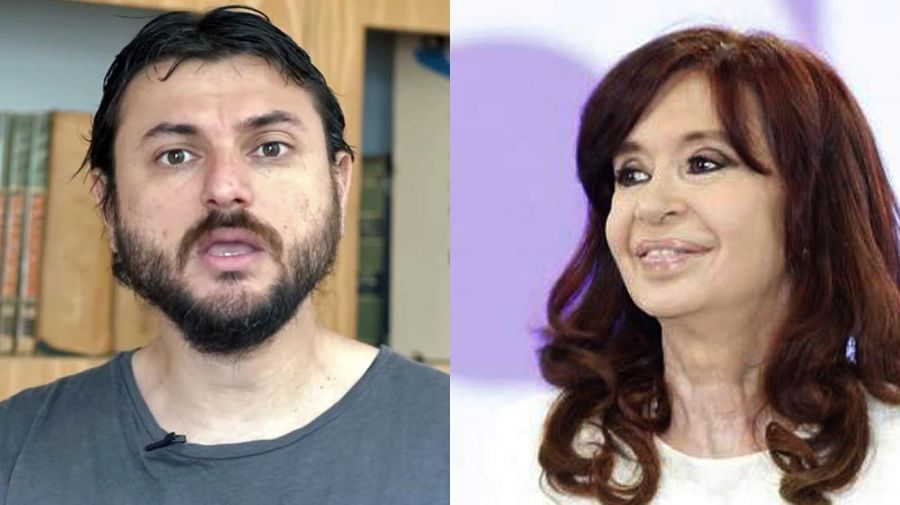 Juan Grabois y Cristina Fernández 20210913