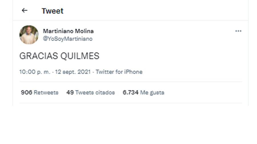 Martiniano Molina 20210913