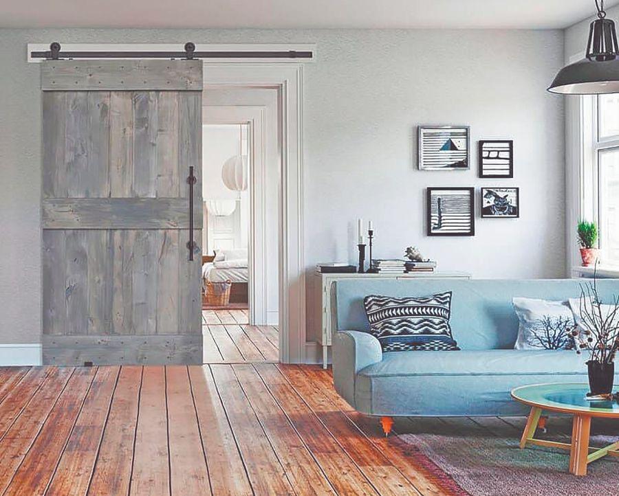 Puertas de granero de madera