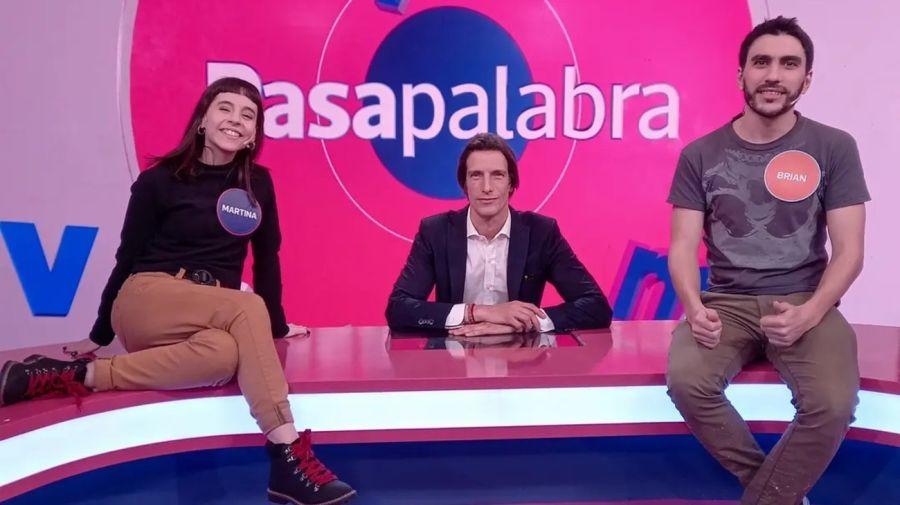 Brian Parkinson, Ivan de Pineda y Martina Barraza