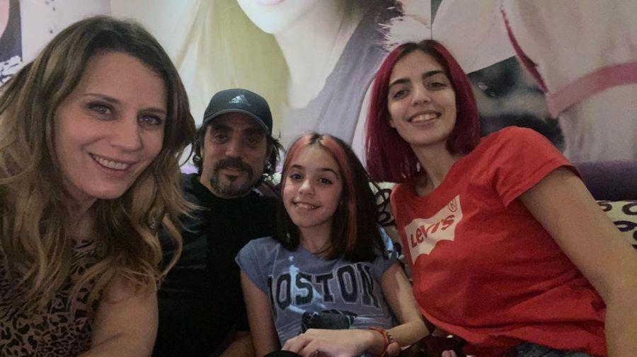 Rocio Marengo, Eduardo Fort y sus hijos