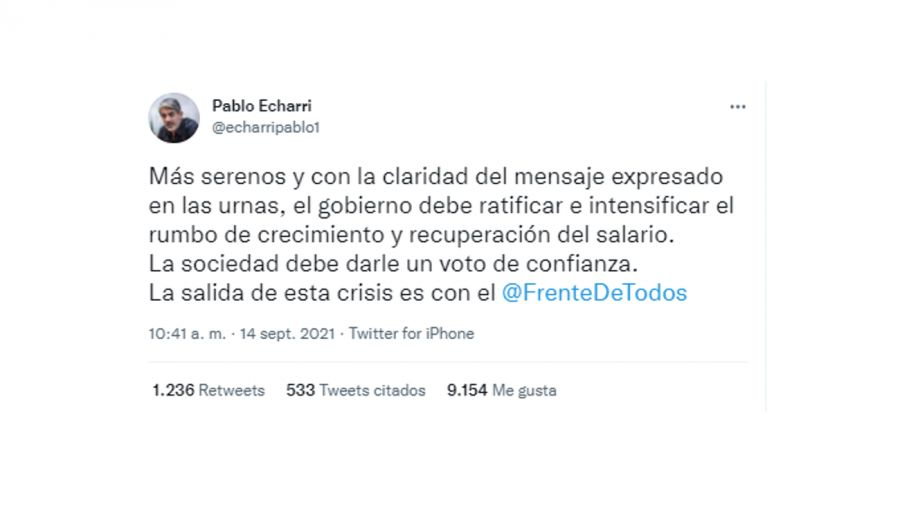 Tweet Echarri 0915