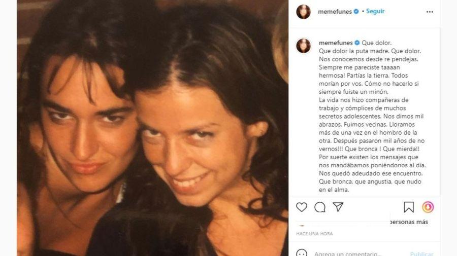 Agustina Posse y Mercedes Funes