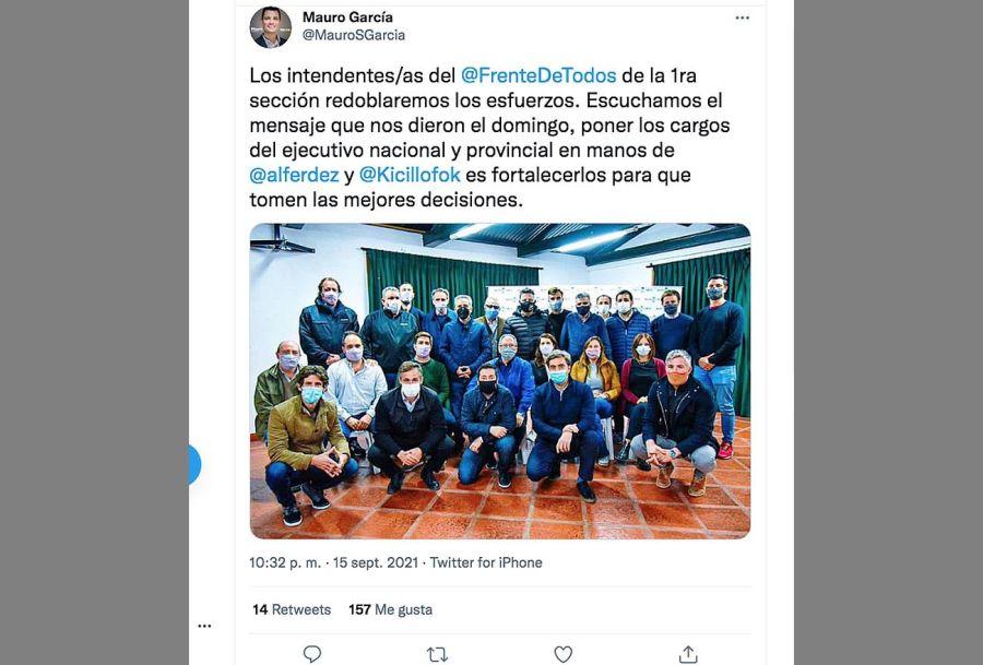 Asunto Alberto Fernández 20210916