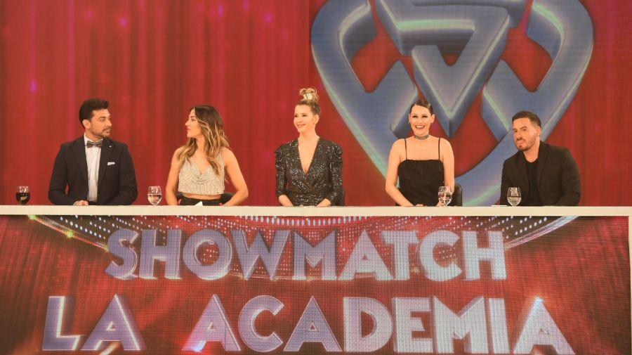 Federico Bal en el jurado de Showmatch La Academia