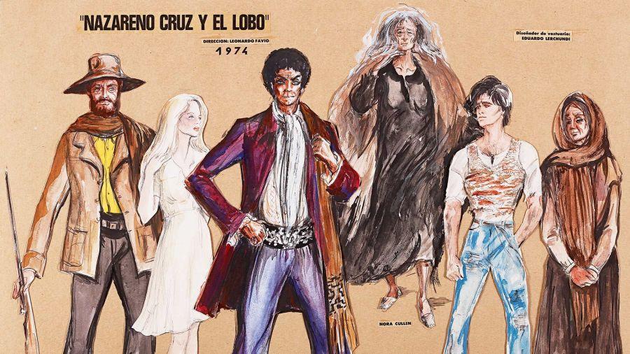Vestuario de Nazareno Cruz y el lobo-Eduardo Lerchundi