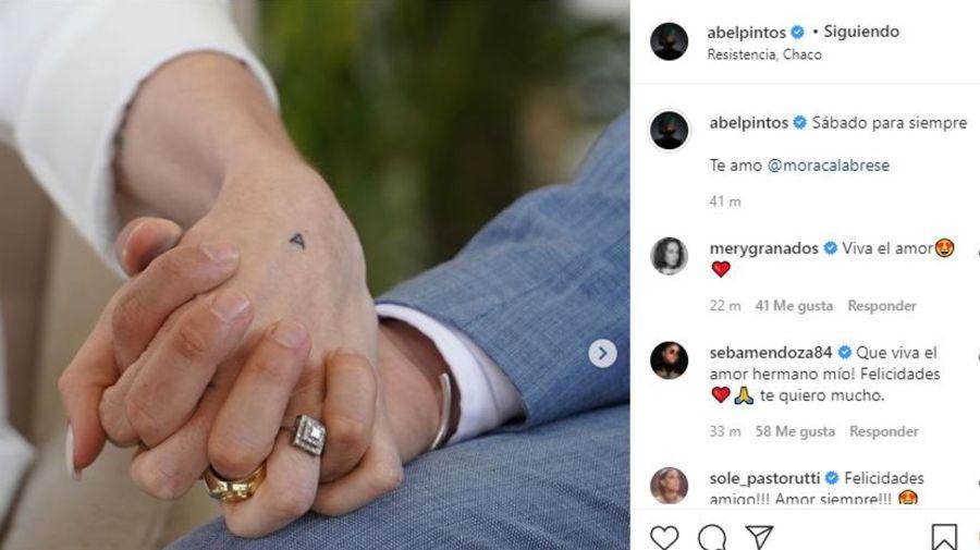 Casamiento Abel Pintos y Mora Calabrese