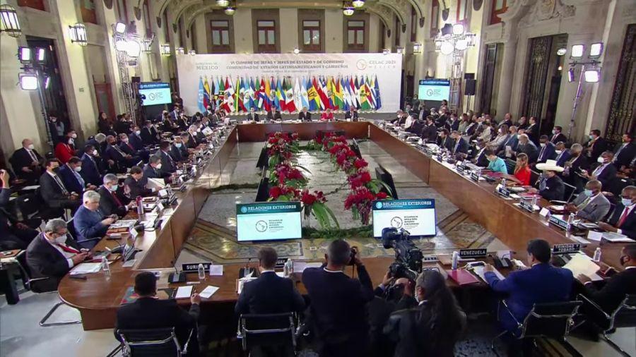Cumbre de la CELAC en México.