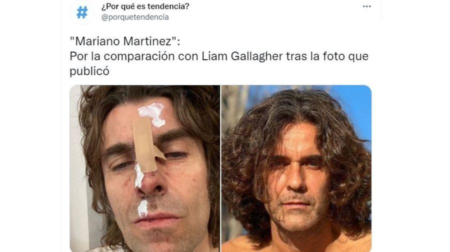 Liam Gallagher y Mariano Martínez