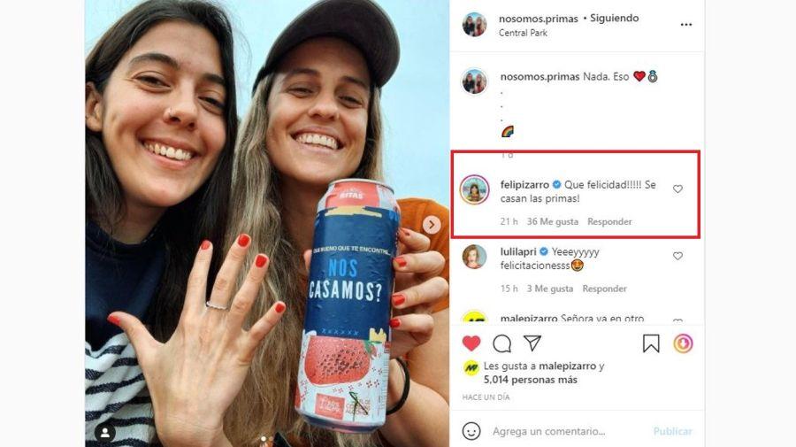 Malena Pizarro y Martina Feldkamp compromiso