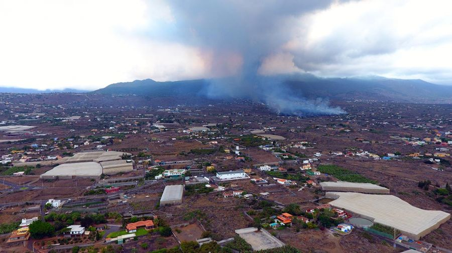 El volcán Cumbre Vieja 20210920
