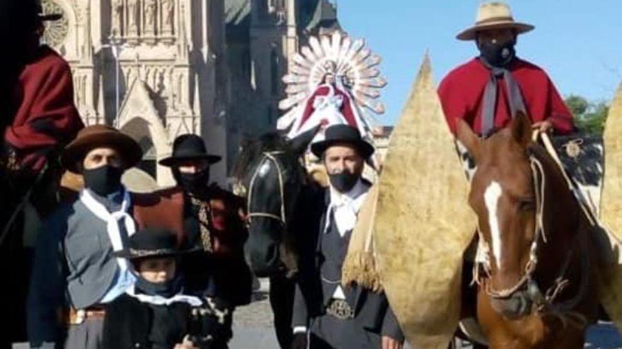 eregrinación a caballo a Luján 20210920