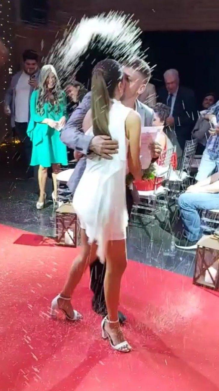 Barbie Vélez se casó por civil con Lucas Rodríguez