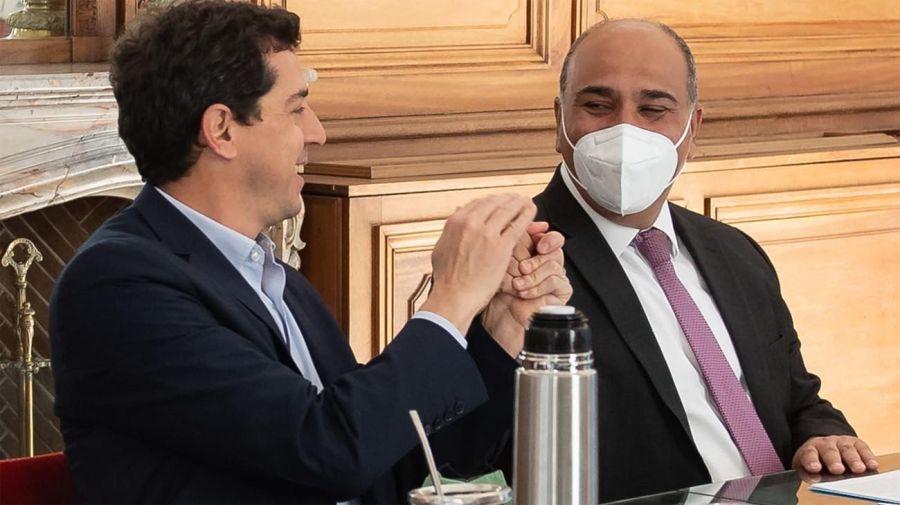 Eduardo Wado de Pedro y Juan Manzur