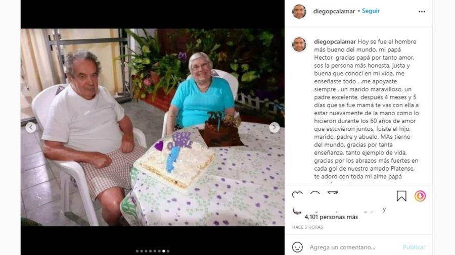Muerte padre de Diego Perez